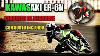 VOLVEMOS AL CIRCUITO DE ALBACETE CON MI KAWASAKI ER-6N (CASI ME CAIGO) l MOTOVLOGS EN ESPAÑOL #12