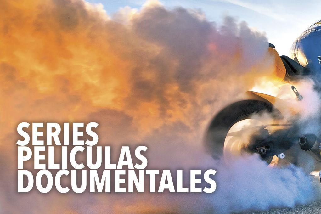 Peliculas, series y documentales de motos