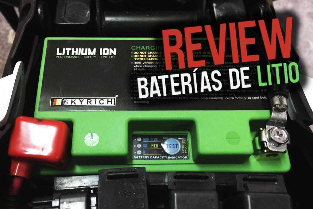 Review batería de litio moto